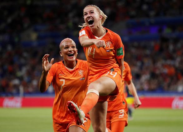 Đánh bại Thụy Điển, tuyển nữ Hà Lan lần đầu vào chung kết World Cup - Ảnh 1.