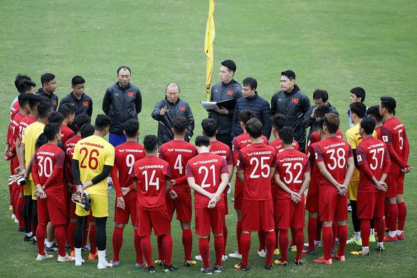 Tuyển U23 VN đá giao hữu với U23 Trung Quốc - Ảnh 1.