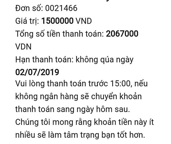 tin nhan tu app vay tien (read-only)