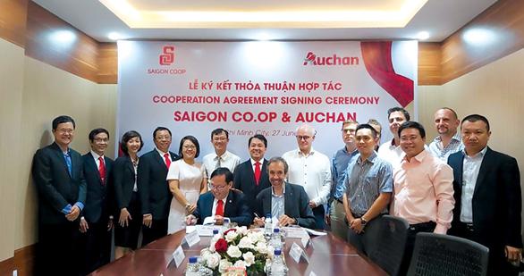 Saigon Co.op tiếp quản Auchan Retail Việt Nam như thế nào? - Ảnh 1.