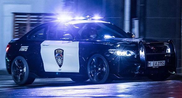 Những chiếc xe cảnh sát sang chảnh bậc nhất thế giới - Ảnh 2.