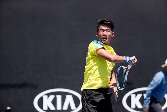 Nguyễn Văn Phương đánh bại đối thủ Pháp, vào vòng chính Wimbledon trẻ 2019 - Ảnh 1.