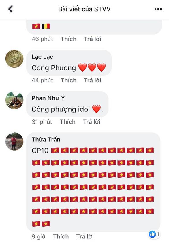 Tên Công Phượng và cờ đỏ sao vàng tràn ngập Facebook của CLB Sint-Truidense VV - Ảnh 1.