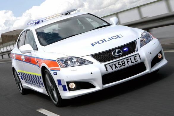 Những chiếc xe cảnh sát sang chảnh bậc nhất thế giới - Ảnh 7.