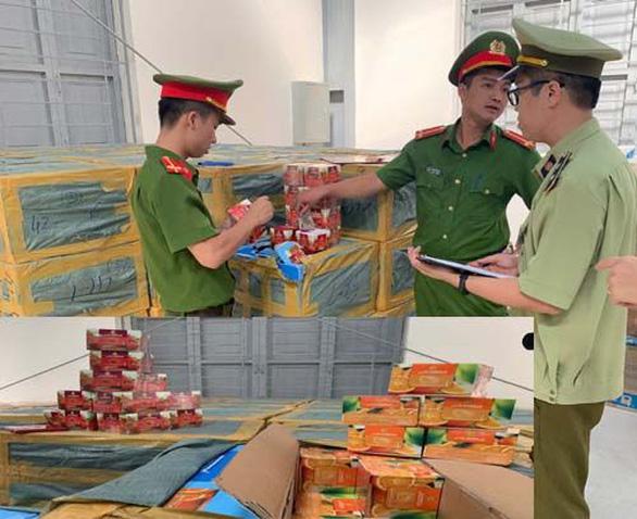 7.000 hộp shisha từ TP.HCM ra Hà Nội bị dính ở Thanh Hóa - Ảnh 1.