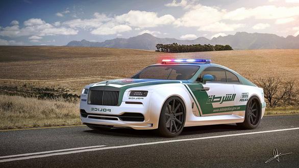 Những chiếc xe cảnh sát sang chảnh bậc nhất thế giới - Ảnh 4.