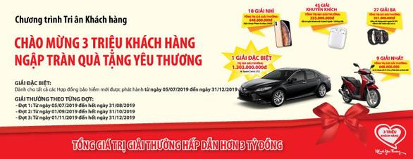 Nhiều giải thưởng hấp dẫn khi mua bảo hiểm Dai-ichi Việt Nam - Ảnh 1.