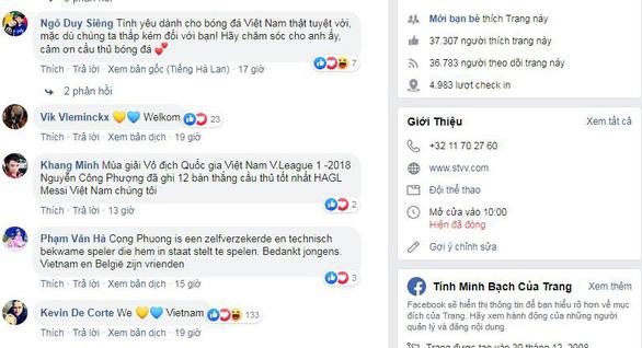 Nhờ Công Phượng, Facebook của STVV tăng hơn 30.000 người theo dõi sau...1 đêm - Ảnh 1.