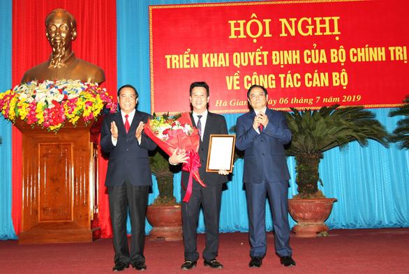 'Chủ tịch trẻ nhất nước về làm bí thư Hà Giang - Ảnh 1.