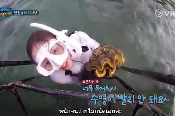 Bắt trái phép sò lớn nhất thế giới, diễn viên Hàn đối mặt 4 năm tù ở Thái Lan - Ảnh 1.