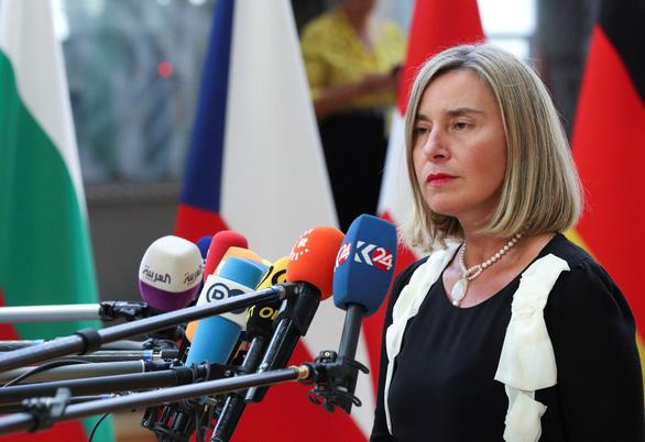 Châu Âu hối thúc Iran ngưng hủy hoại thỏa thuận hạt nhân - Ảnh 1.