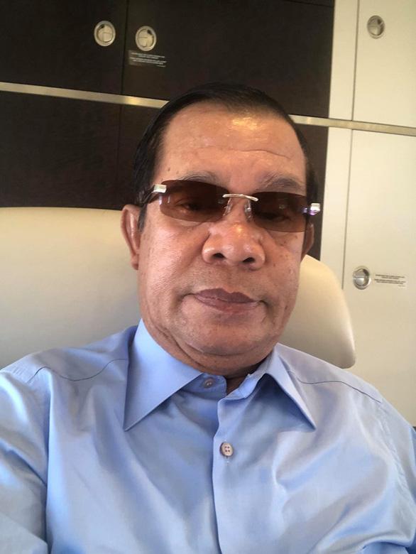 Thủ tướng Campuchia Hun Sen hủy họp để khám bệnh ở Singapore - Ảnh 2.