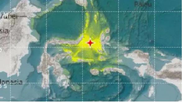 Động đất mạnh ngoài biển, Indonesia phát cảnh báo sóng thần - Ảnh 1.