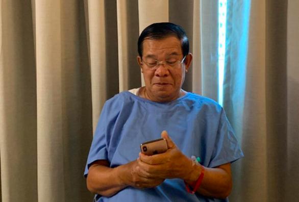 Thủ tướng Campuchia Hun Sen bác tin đồn mình sắp chết - Ảnh 1.