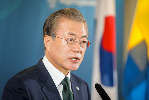 Chaebol chật vật, Tổng thống Hàn kêu gọi Nhật rút rào cản thương mại - Ảnh 1.