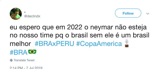 CĐV Brazil mỉa mai Neymar sau khi đội tuyển vô địch Copa America 2019 - Ảnh 5.