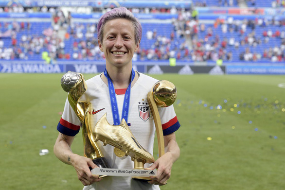 Đánh bại Hà Lan, tuyển Mỹ lần thứ tư vô địch World Cup nữ - Ảnh 3.