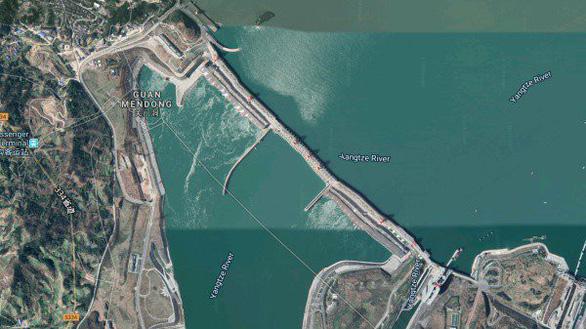 Đập Tam Hiệp ở Trung Quốc có bị biến dạng? - Ảnh 1.