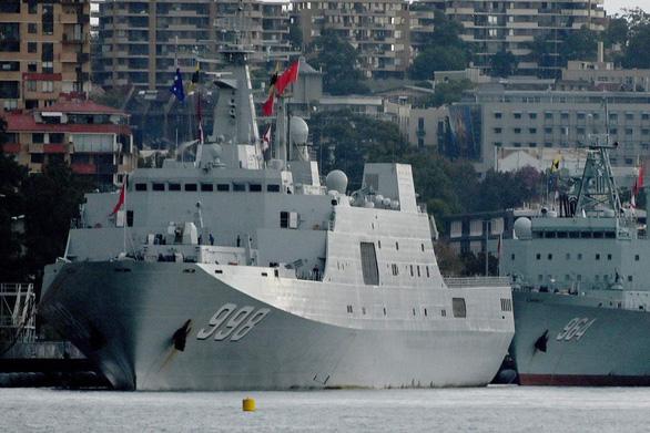 Tàu Trung Quốc lén lút theo dõi tập trận Mỹ - Úc? - Ảnh 1.