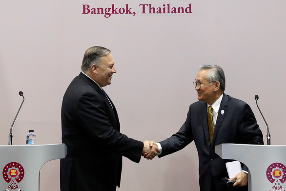 Việt Nam nêu vấn đề Biển Đông trong cuộc họp ASEAN - Mỹ - Ảnh 2.