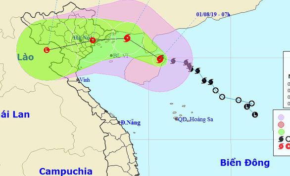 Bão số 3 cách Quảng Ninh - Hải Phòng khoảng 360km, gió giật cấp 8 - Ảnh 1.