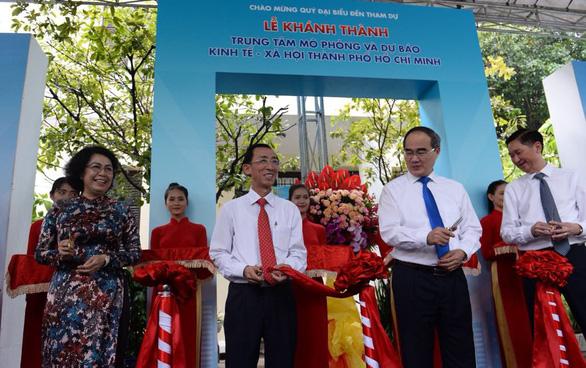 Khánh thành Trung tâm mô phỏng và dự báo kinh tế xã hội TP.HCM - Ảnh 3.