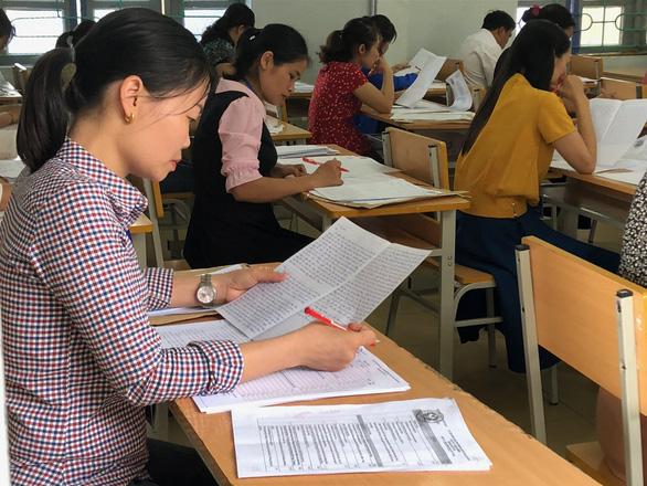 Chấm phúc khảo thi THPT quốc gia: Chỉ 204 bài thi thay đổi kết quả - Ảnh 1.