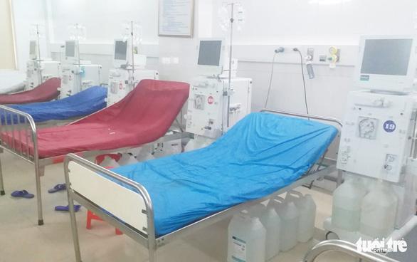 6 bệnh nhân bị sốc, tạm dừng hệ thống chạy thận ở Nghệ An - Ảnh 2.