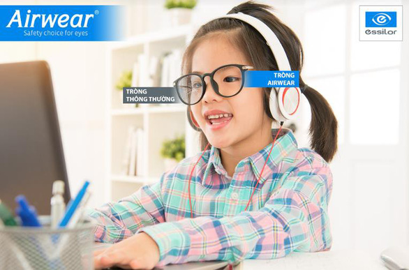 Airwear - Tròng kính đặc biệt của Essilor cho năm học mới - Ảnh 1.