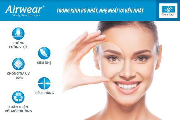 Airwear - Tròng kính đặc biệt của Essilor cho năm học mới - Ảnh 2.