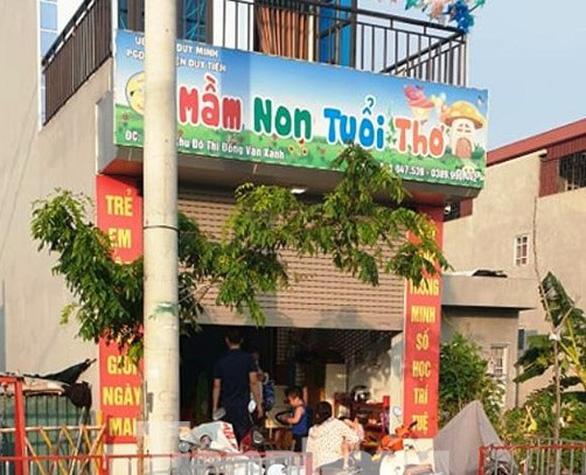 Bộ GD-ĐT yêu cầu Hà Nam báo cáo vụ trẻ mầm non bỏng do học phòng cháy nổ - Ảnh 1.