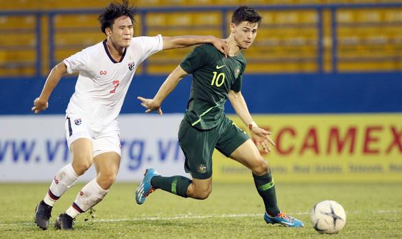 Thua U18 Úc 1-3, U18 Thái Lan sắp về nước sớm - Ảnh 1.