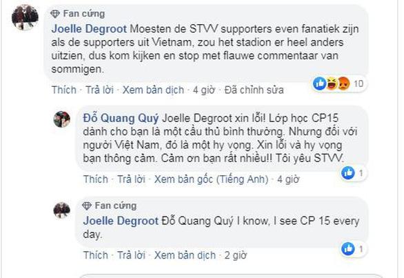 Công Phượng bị gạch tên, CĐV Việt Nam bình loạn bị nhắc nhở trên Facebook của CLB Sint-Truidense - Ảnh 1.