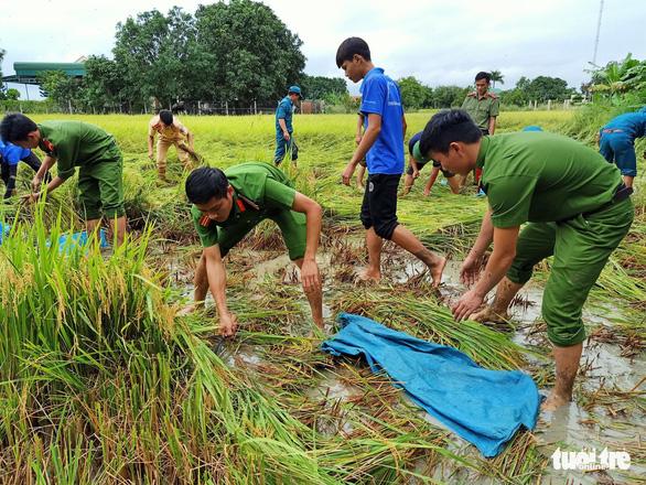 Vùng rốn lũ khắc phục hậu quả mưa bão - Ảnh 3.