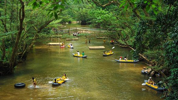 Khám phá vùng rừng Ozo giữa Vườn quốc gia Phong Nha - Kẻ Bàng - Ảnh 2.