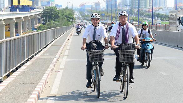 Đề xuất sử dụng xe đạp công cộng ở TP.HCM - Ảnh 1.