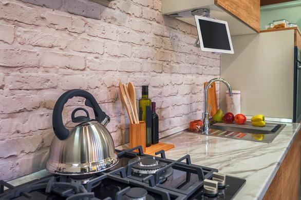 4 ý tưởng ứng dụng gạch mộc trong thiết kế nội thất hiện đại - Ảnh 4.