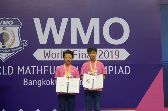 Học sinh TP.HCM giành 12 huy chương thi toán quốc tế WMO 2019 - Ảnh 1.