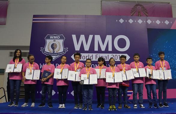 Học sinh TP.HCM giành 12 huy chương thi toán quốc tế WMO 2019 - Ảnh 2.
