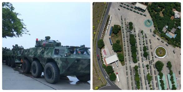 Trung Quốc triển khai xe thiết giáp sát nách Hong Kong - Ảnh 2.