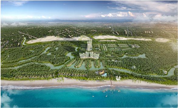 Sức hút của biệt thự nghỉ dưỡng ven biển Lagoona Bình Châu - Ảnh 1.