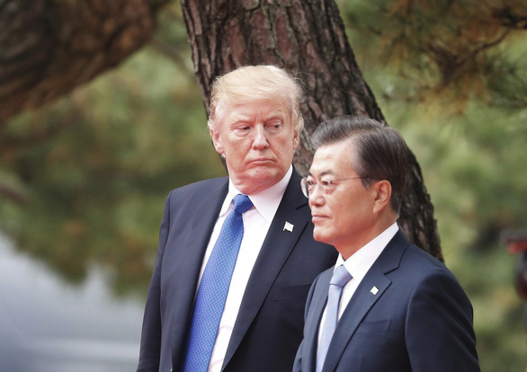 Bao Han: 'Han Quoc la cay ATM cua ong Trump hay sao?'