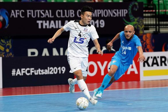 Hạ CLB Trung Quốc, Thái Sơn Nam vào bán kết Giải futsal các CLB châu Á 2019 - Ảnh 1.