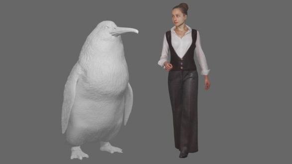 Phát hiện hóa thạch chim cánh cụt cao bằng người - Ảnh 1.