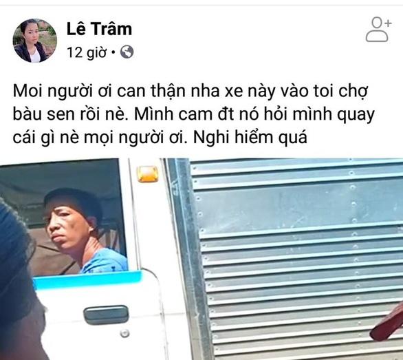 Cuộc sống đảo lộn vì bị tung tin bắt cóc phụ nữ trên Facebook - Ảnh 4.