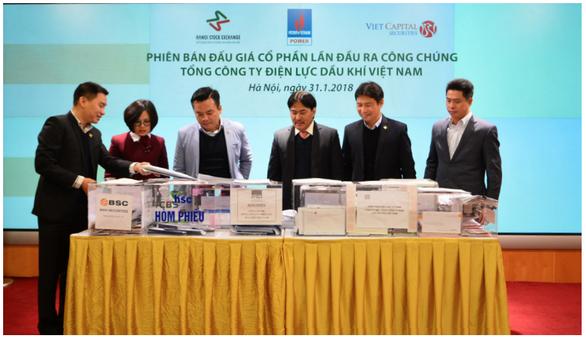 Năm 2018, sàn chứng khoán Hà Nội thực hiện 29 phiên thoái vốn nhà nước - Ảnh 1.