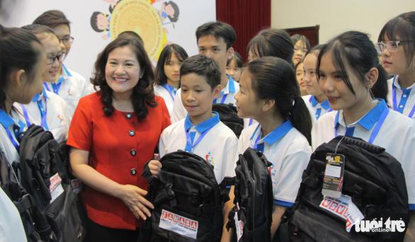 169 em nhỏ dự Diễn đàn trẻ em quốc gia - Ảnh 1.