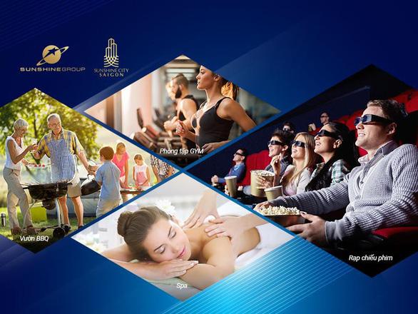 Tổ hợp dịch vụ tiện ích đẳng cấp của Sunshine City Sài Gòn - Ảnh 3.