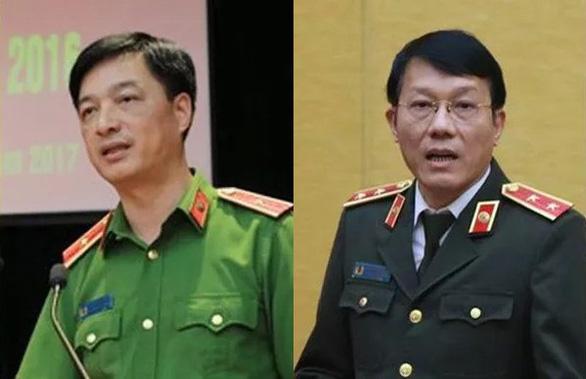 Công bố quyết định bổ nhiệm 2 thứ trưởng Bộ Công an - Ảnh 1.