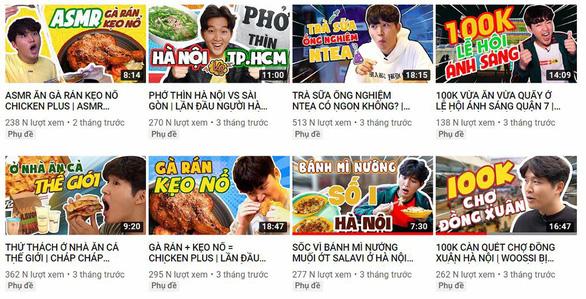 Chuyện nghề của Youtuber thiện lành - Kỳ cuối: Chàng trai Hàn mê ẩm thực Việt Nam - Ảnh 3.